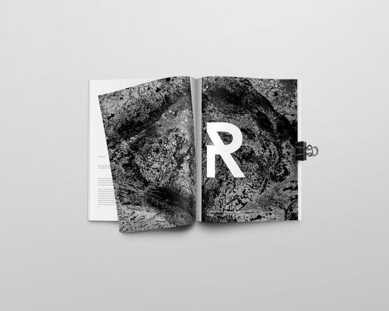 magazine raw page